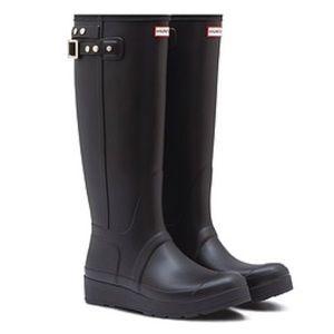 Authentic New Hunter tall rain boots